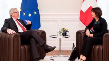 Jean-Claude Juncker, Doris Leuthard