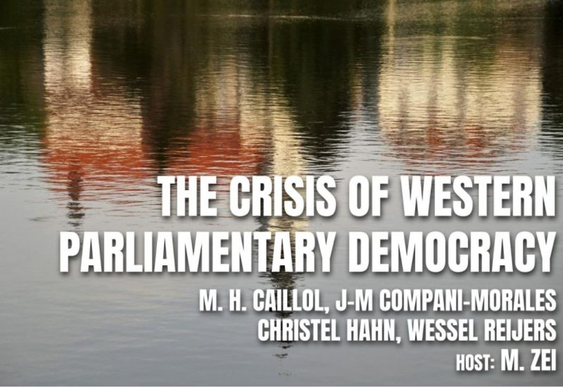 NEP No 10: The crisis of Western parliamentary democracy