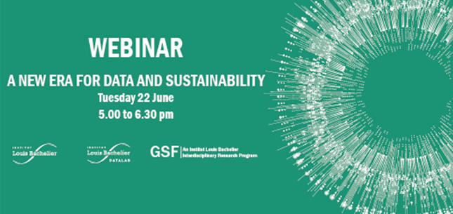 A new era for data and sustainability